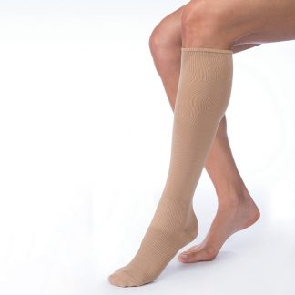 Farrow Hybrid AD II WIDE Stockings with Silver (30-40mmHg)